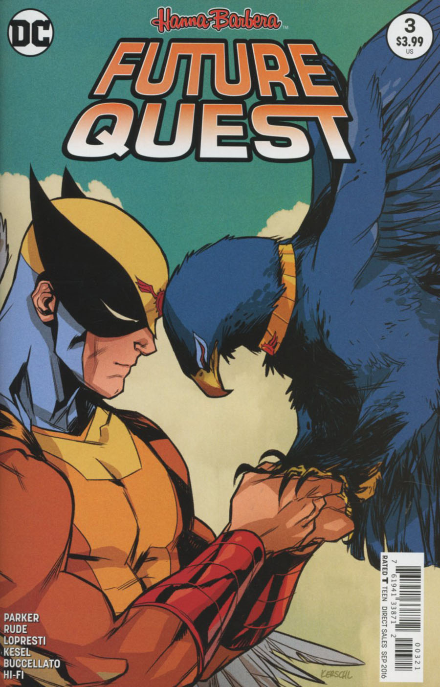 Future Quest #3 Cover B Variant Karl Kerschl Cover