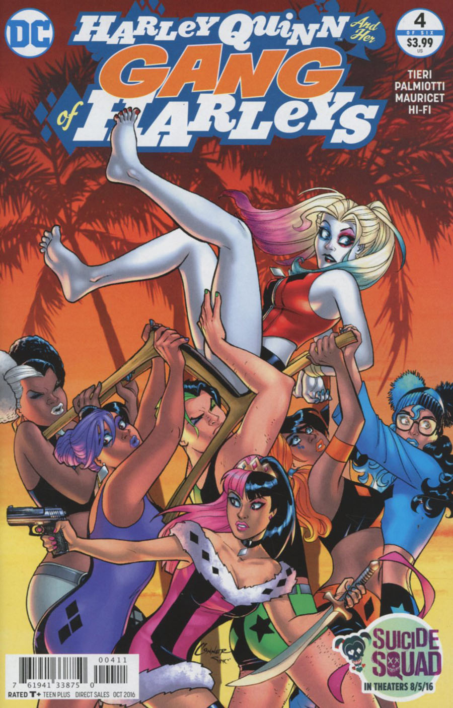Harley Quinn And Her Gang Of Harleys #4 Cover A Regular Amanda Conner Cover