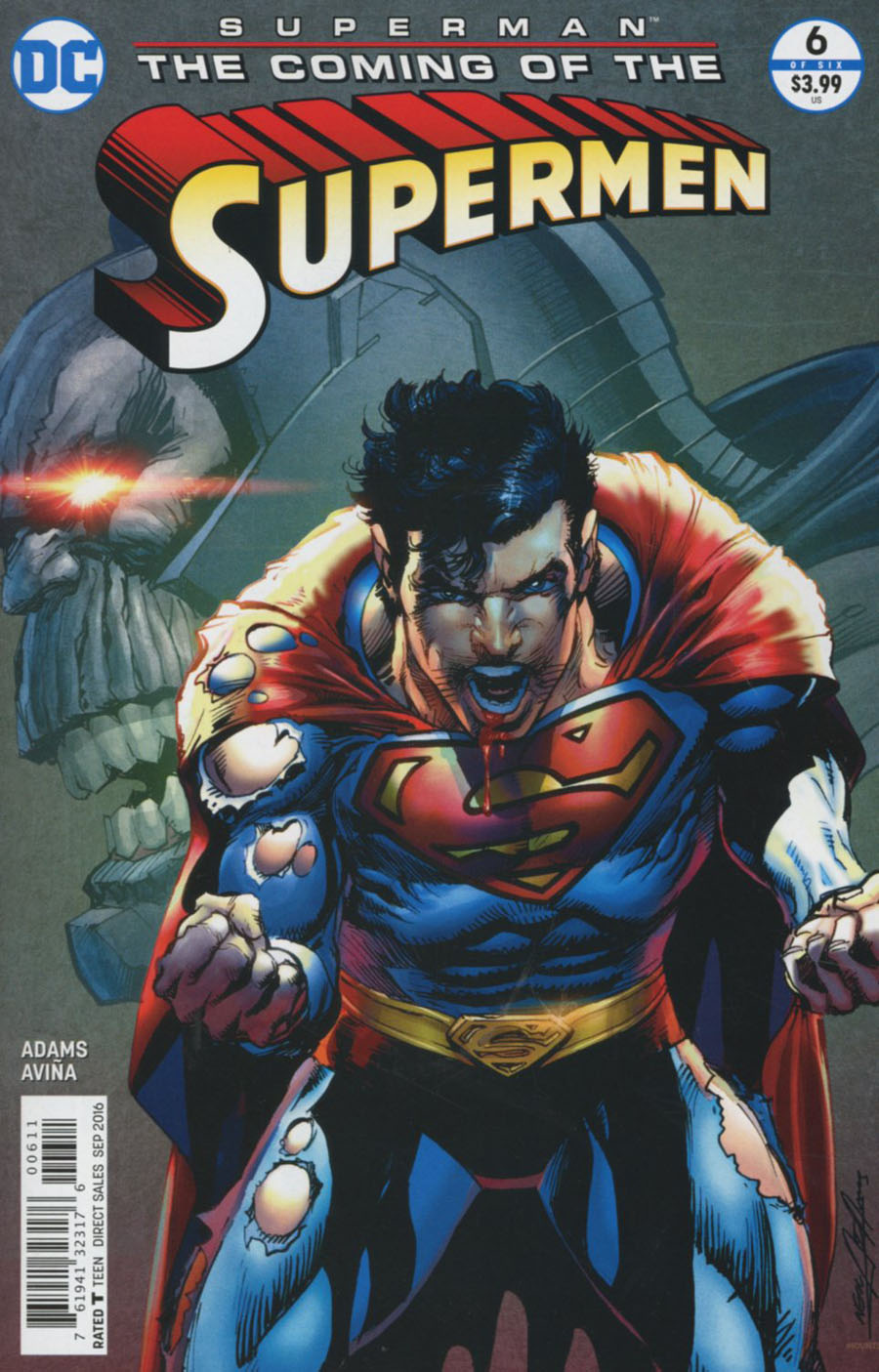 Superman The Coming Of The Supermen #6