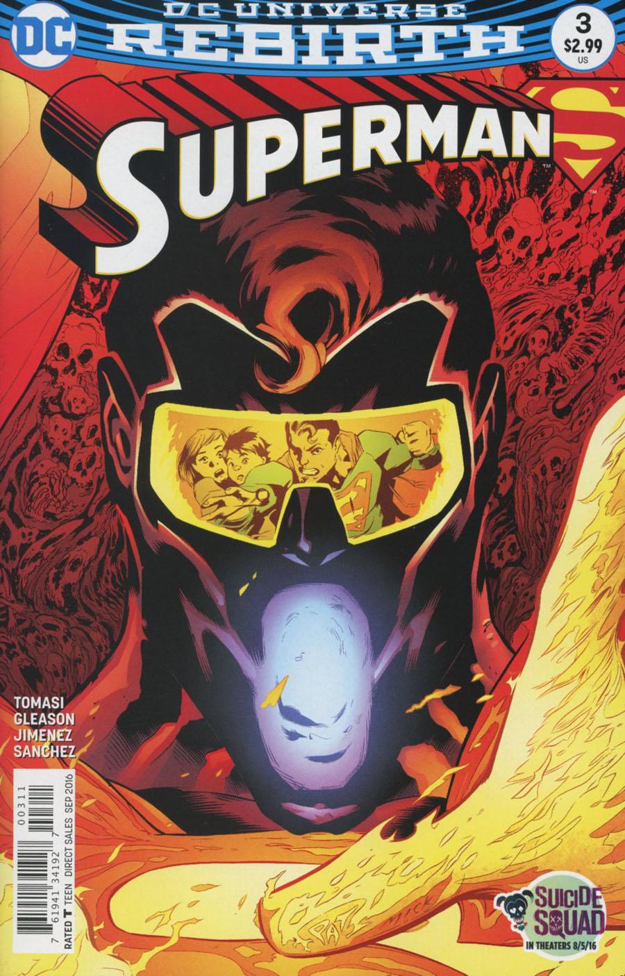 Superman Vol 5 #3 Cover A Regular Patrick Gleason Cover