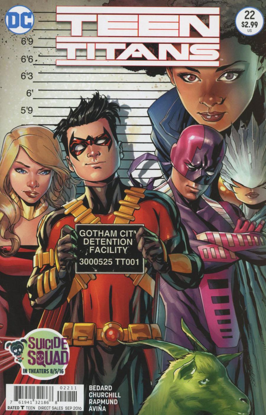 Teen Titans Vol 5 #22