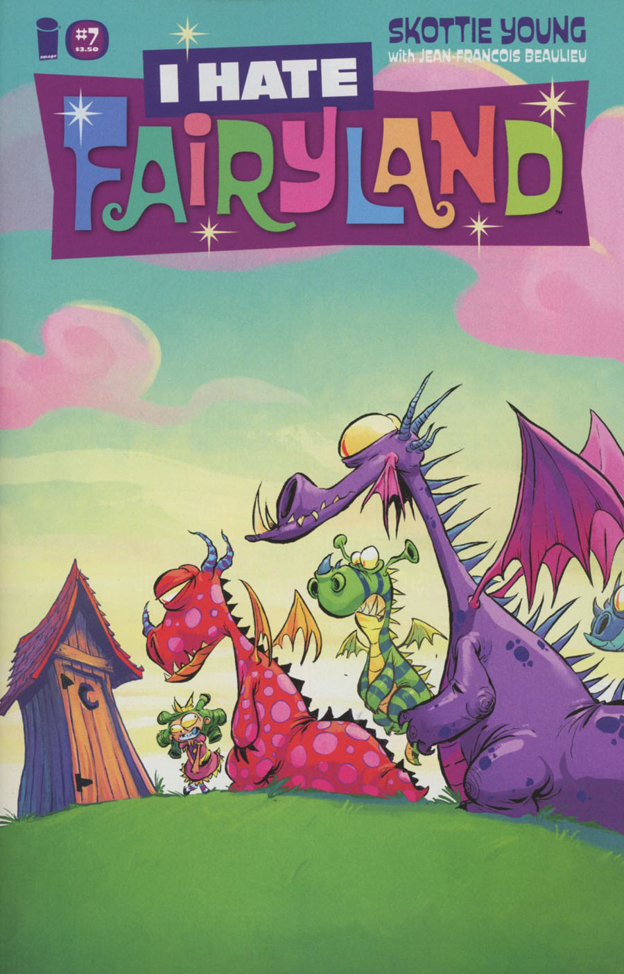 I Hate Fairyland #7 Cover A Regular Skottie Young Cover