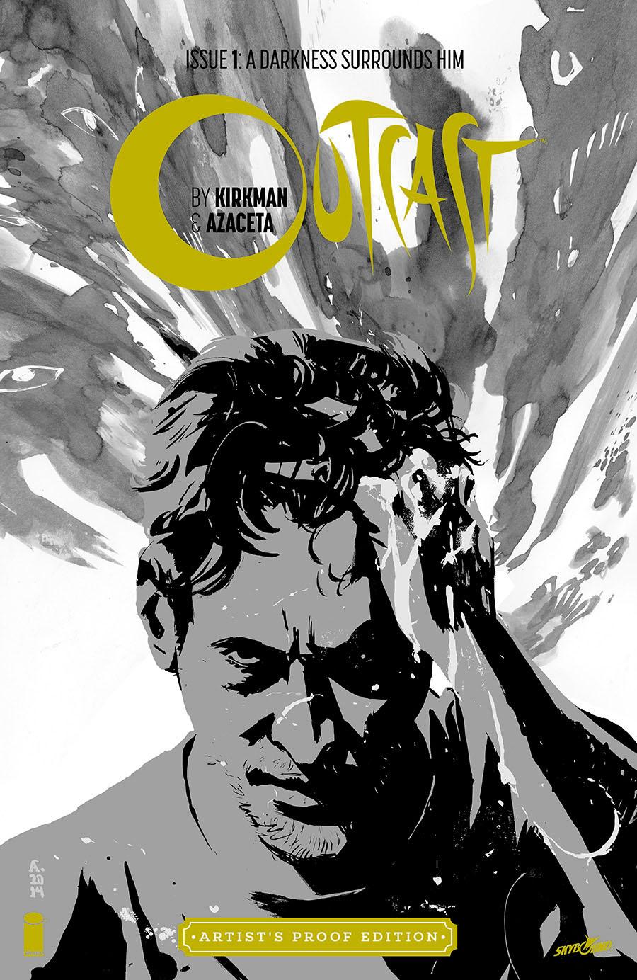 Image Giant-Sized Artists Proof Edition Outcast By Kirkman & Azaceta #1