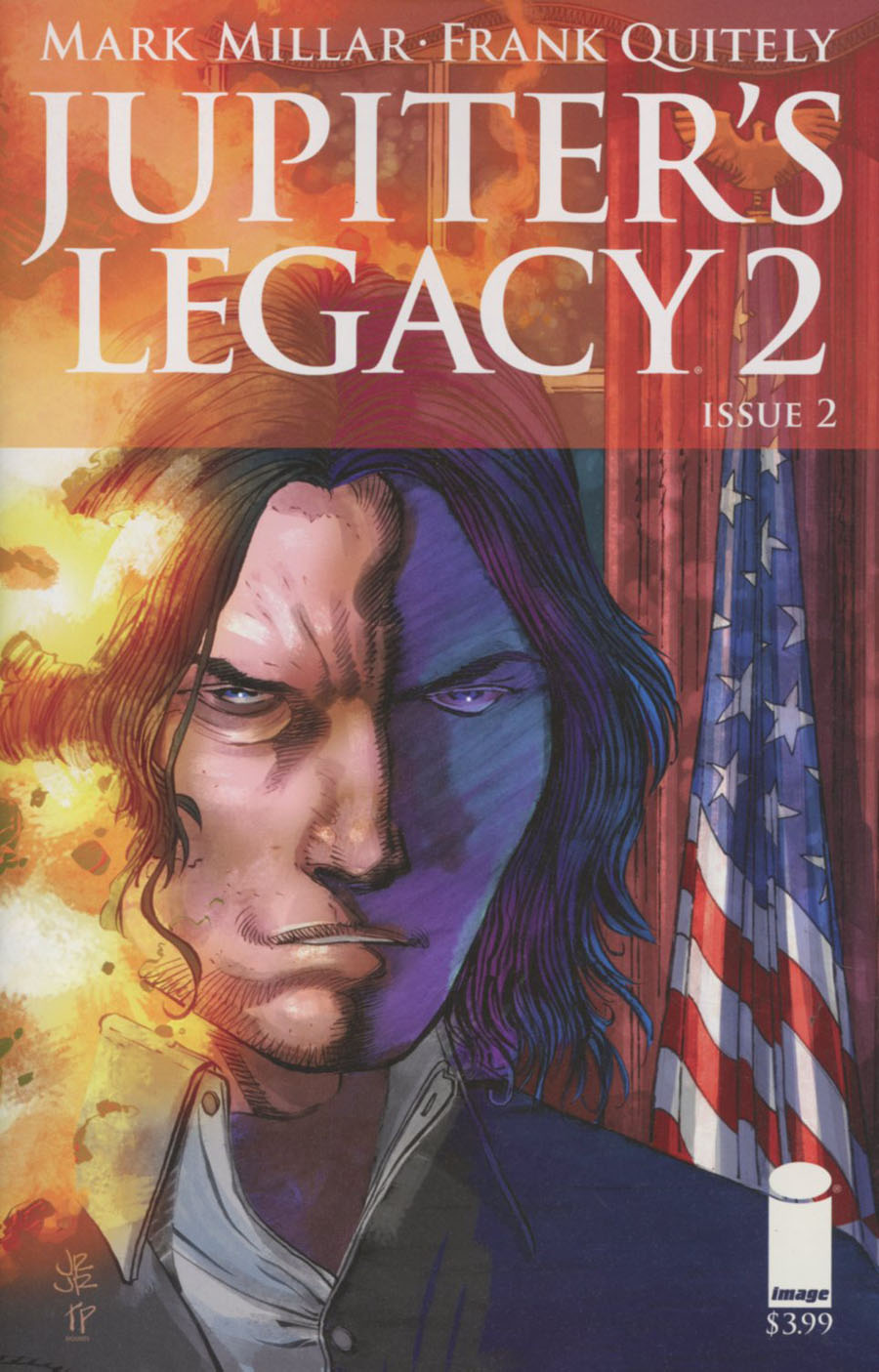 Jupiters Legacy Vol 2 #2 Cover B Variant John Romita Jr Cover