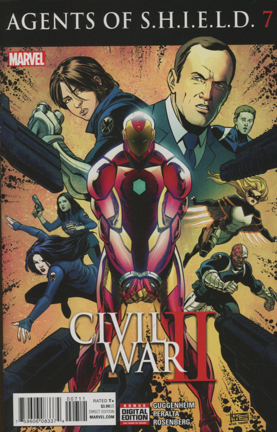 Agents Of S.H.I.E.L.D. #7 (Civil War II Tie-In)