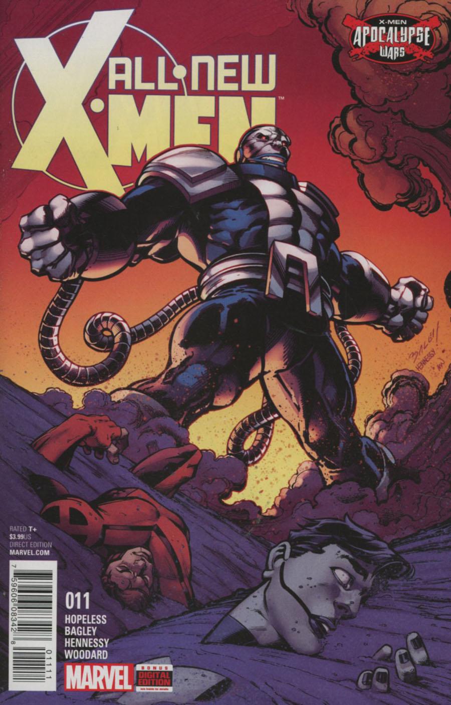 All-New X-Men Vol 2 #11 Cover A Regular Mark Bagley Cover (X-Men Apocalypse Wars Tie-In)