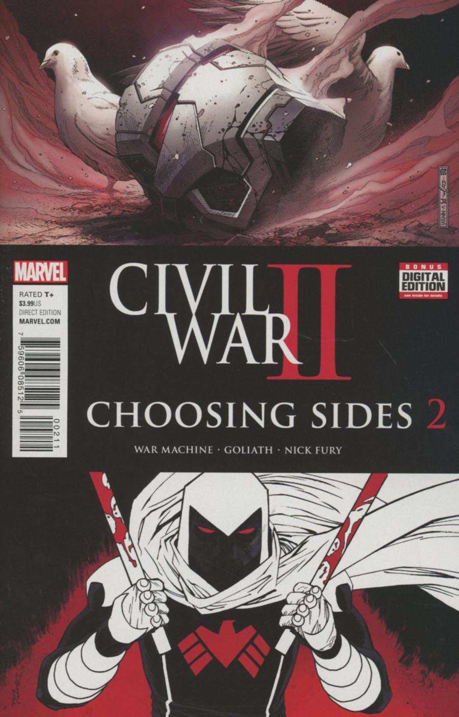 Civil War II Choosing Sides #2 Cover A Regular Jim Cheung & Declan Shalvey Cover