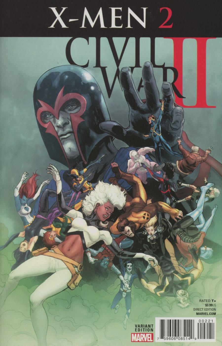Civil War II X-Men #2 Cover B Variant Victor Ibanez Cover