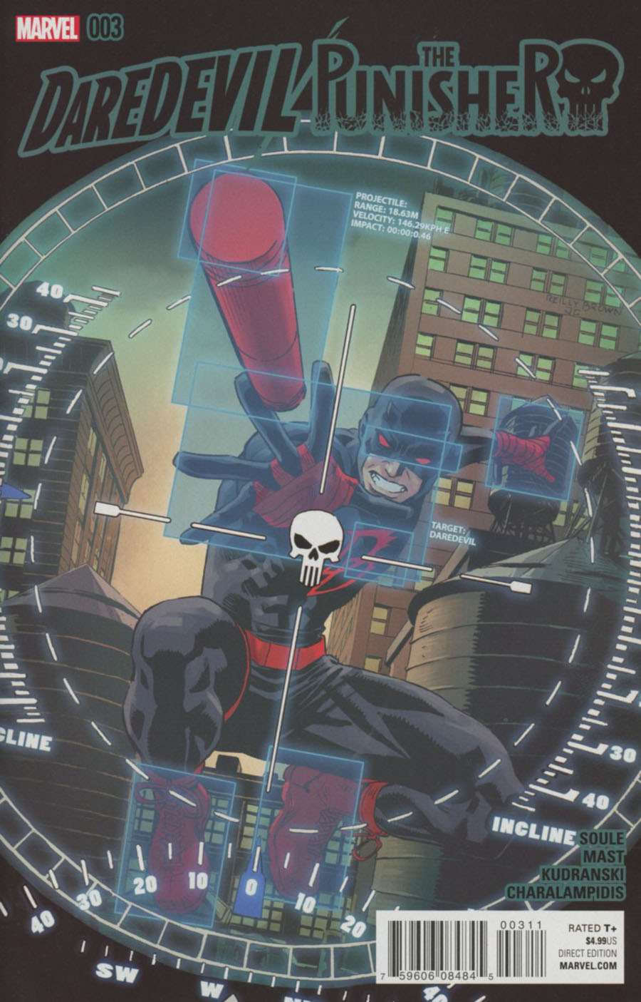 Daredevil Punisher #3