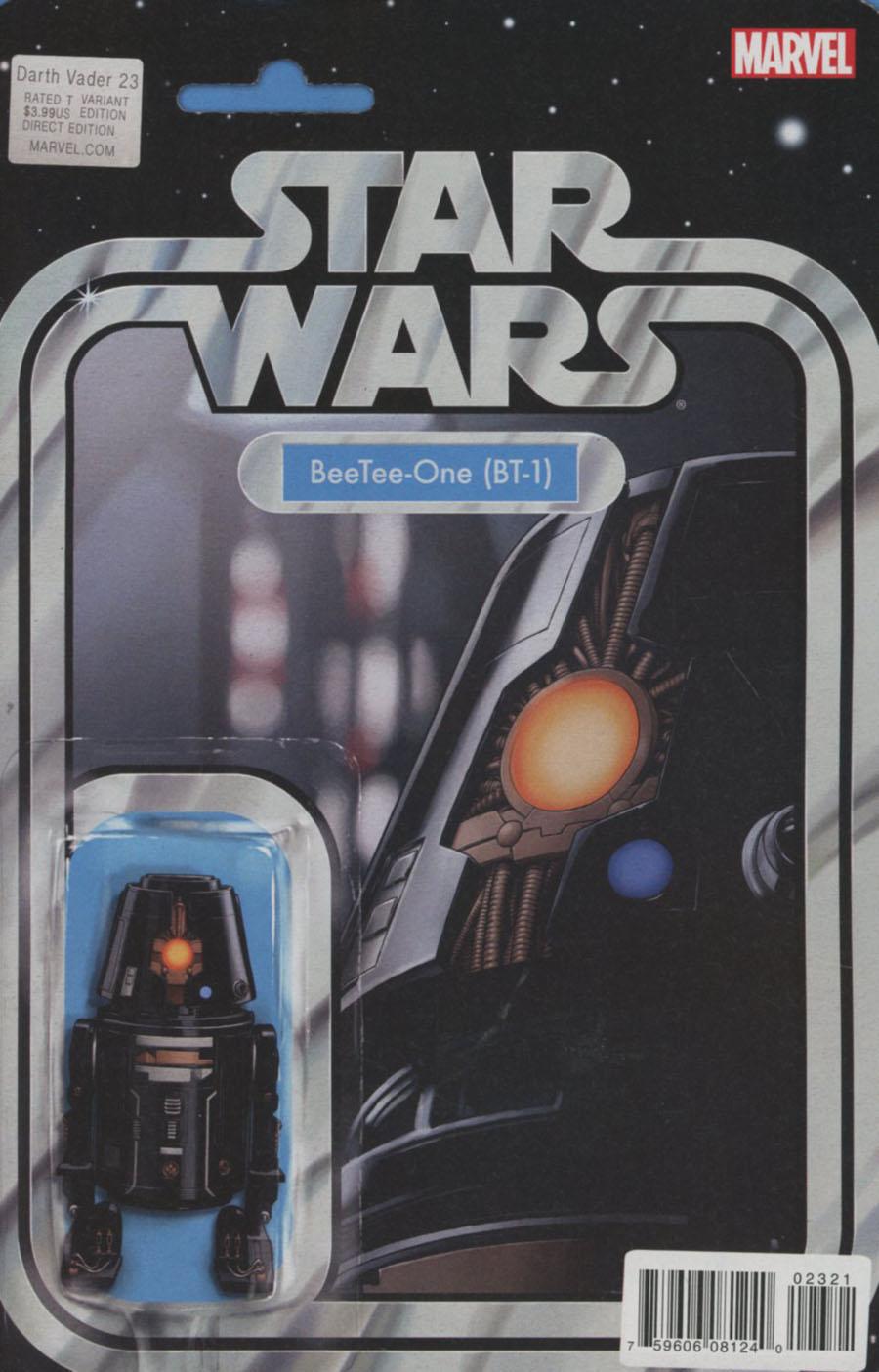 Darth Vader #23 Cover B Variant John Tyler Christopher Action Figure Cover