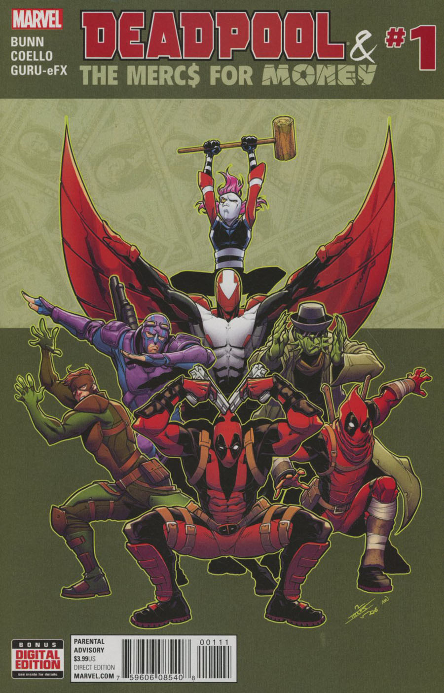 Deadpool And The Mercs For Money Vol 2 #1 Cover A Regular Iban Coello Cover
