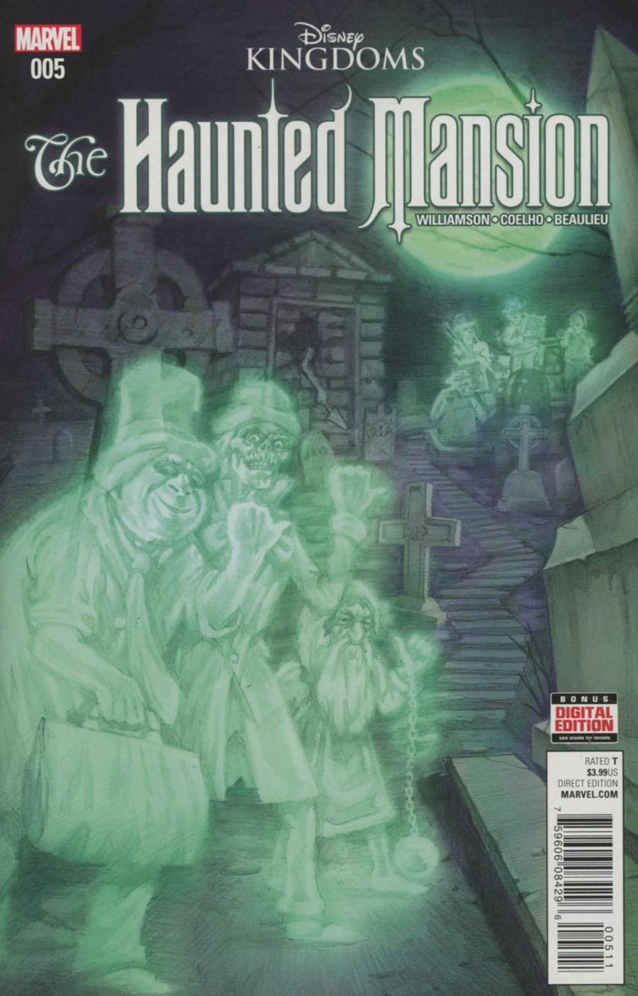 Disney Kingdoms Haunted Mansion #5 Cover A Regular EM Gist Cover