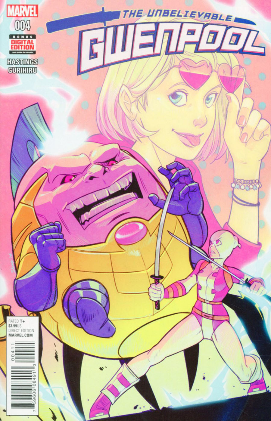 Gwenpool #4 Cover A Regular Stacey Lee Cover