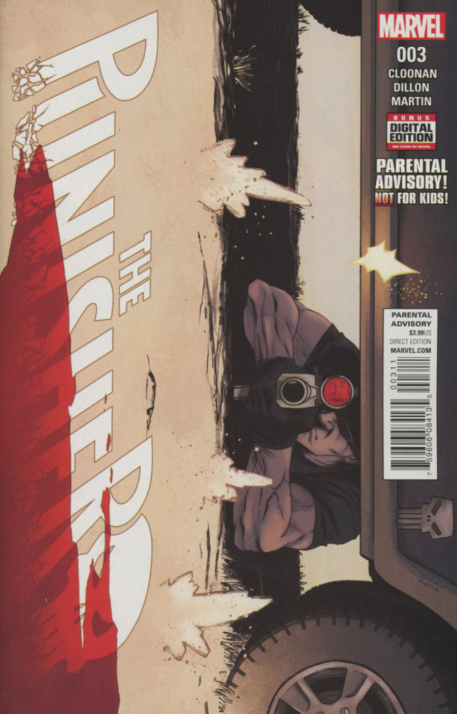 Punisher Vol 10 #3 Cover A Regular Declan Shalvey Cover