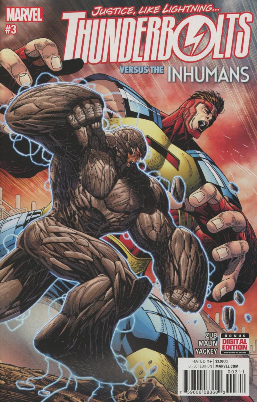 Thunderbolts Vol 3 #3 Cover A Regular Jon Malin Cover