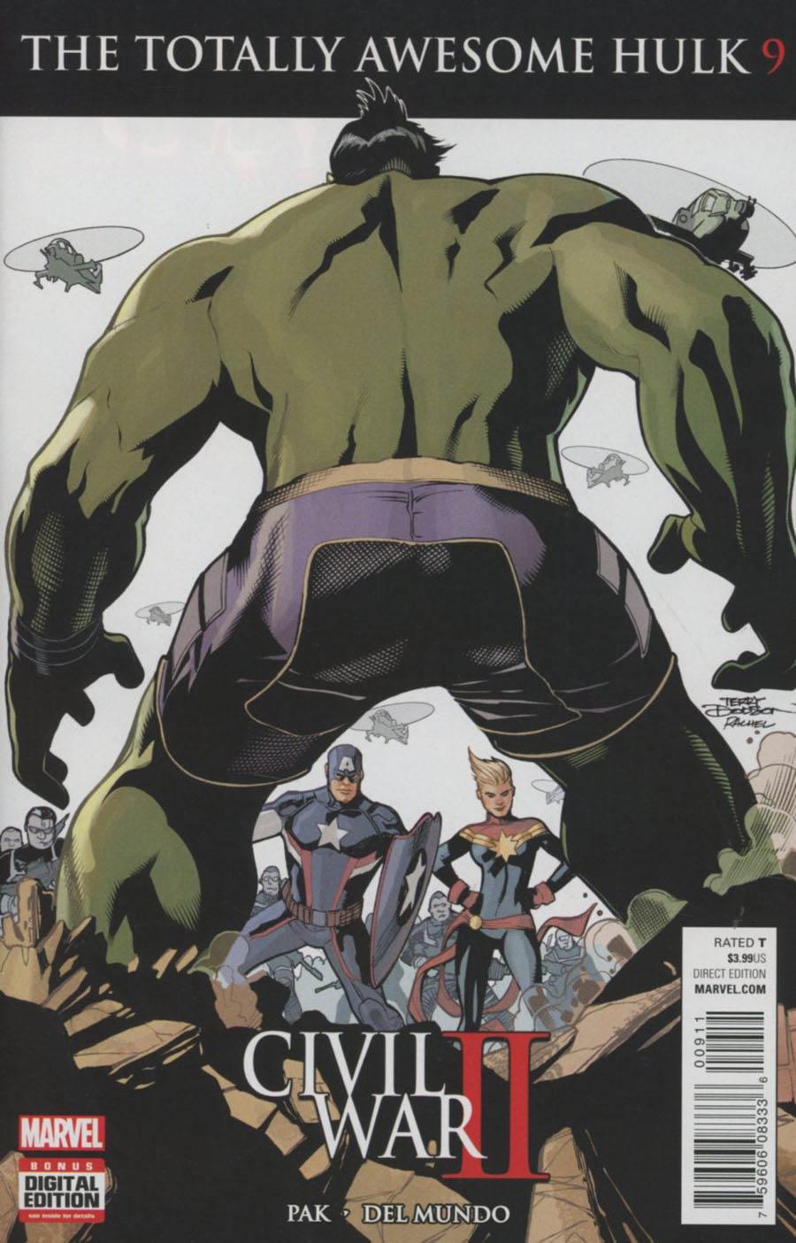 Totally Awesome Hulk #9 (Civil War II Tie-In)