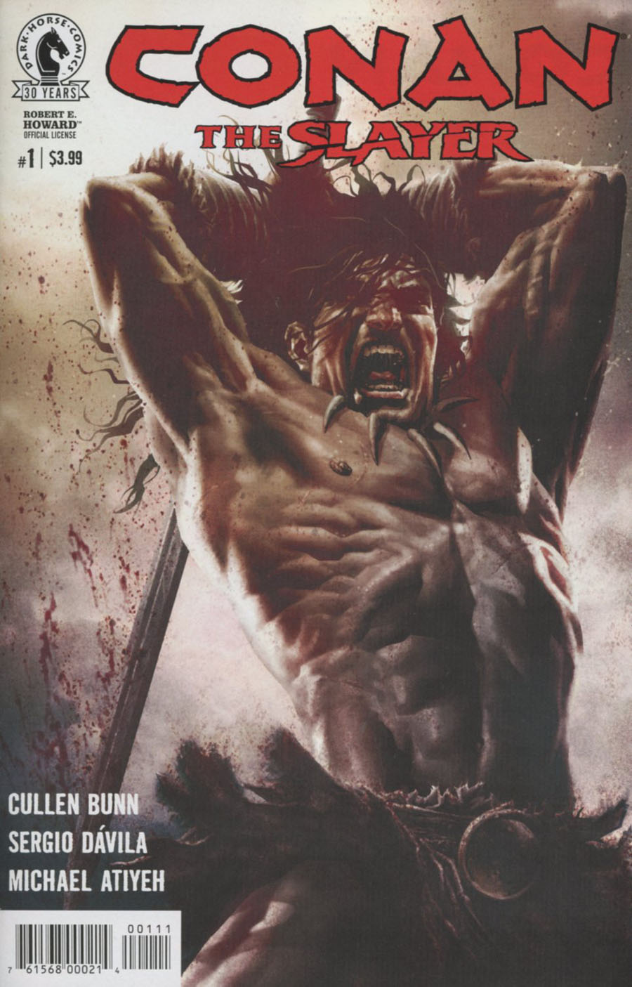 Conan The Slayer #1 Cover A Regular Lee Bermejo Cover