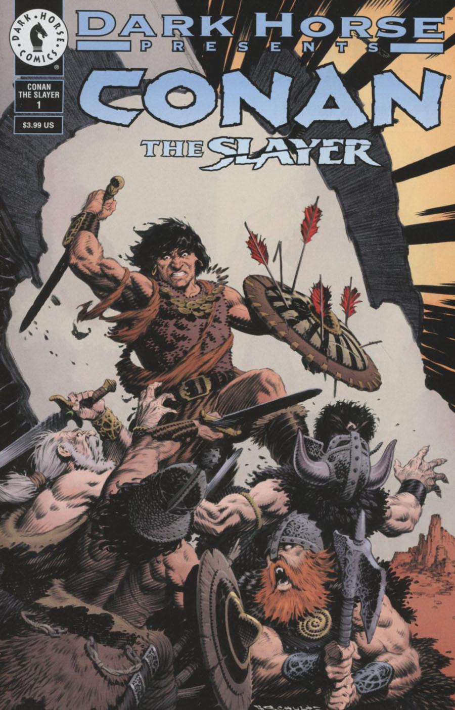 Conan The Slayer #1 Cover B Variant Mark Schultz Dark Horse 30th Anniversary Cover