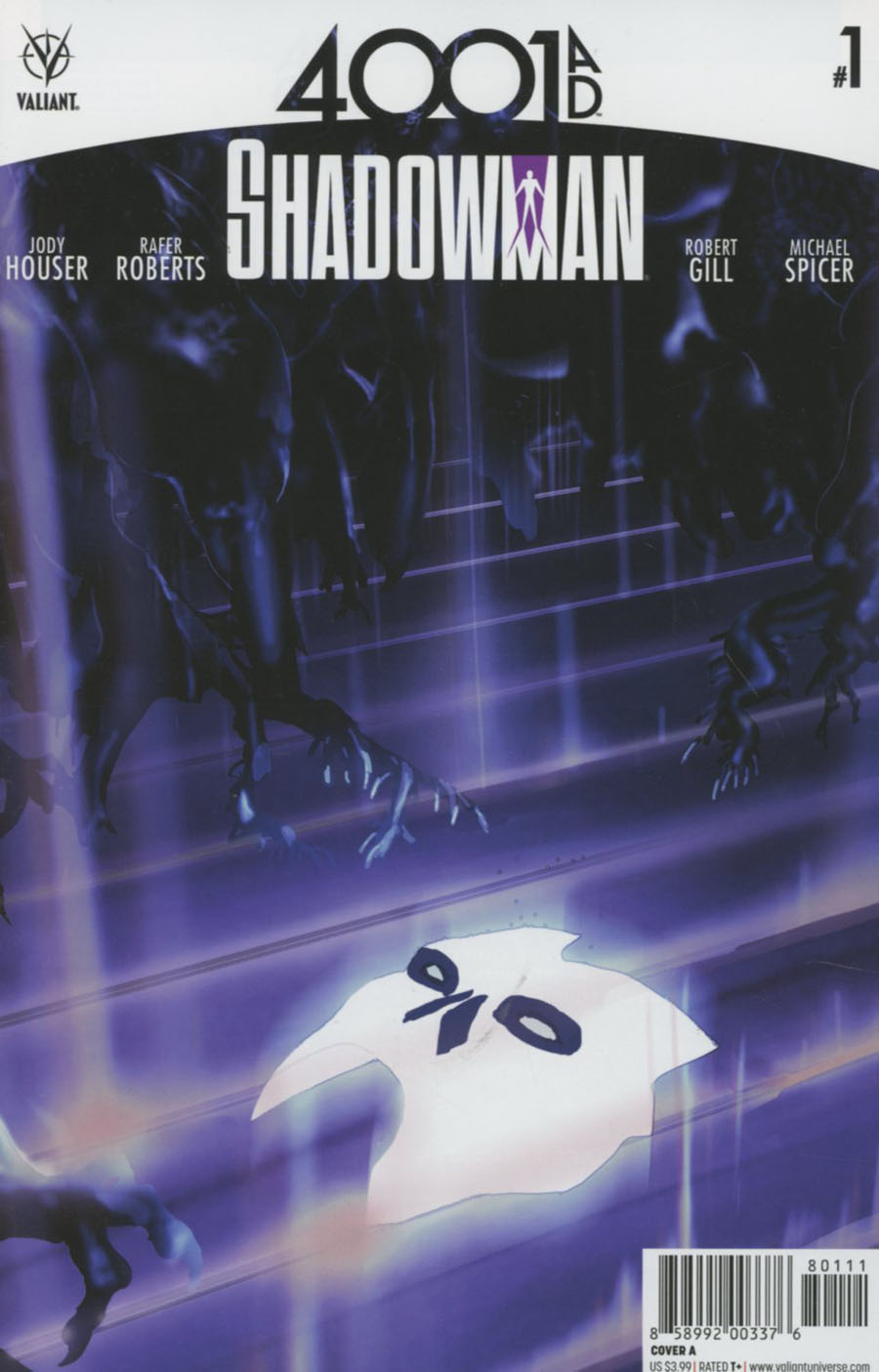 4001 AD Shadowman #1 Cover A Regular Travel Foreman Cover