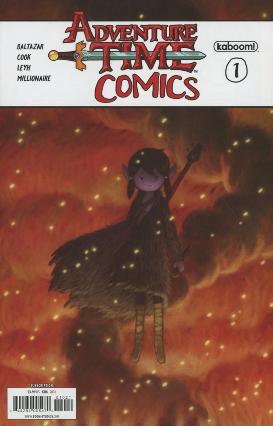 Adventure Time Comics #1 Cover B Variant Derek Kirk Kim Subscription Cover