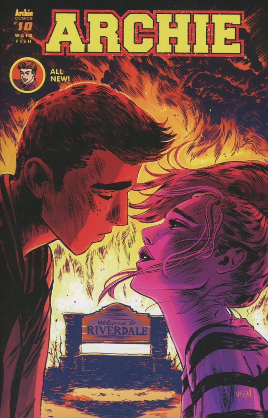 Archie Vol 2 #10 Cover A Regular Veronica Fish Cover