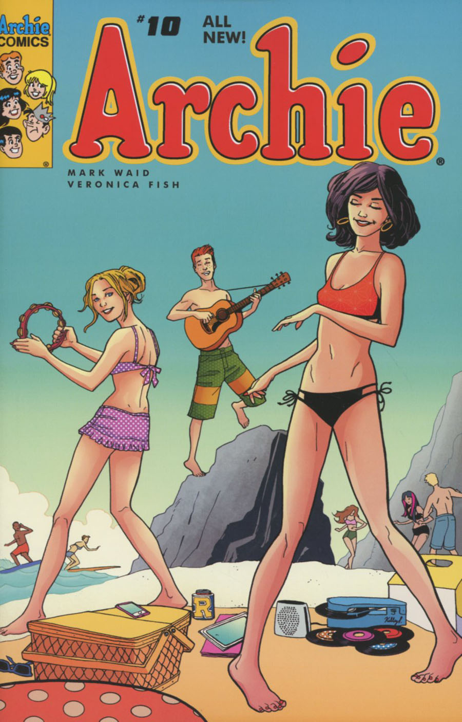Archie Vol 2 #10 Cover C Variant Sandy Jarrell Cover
