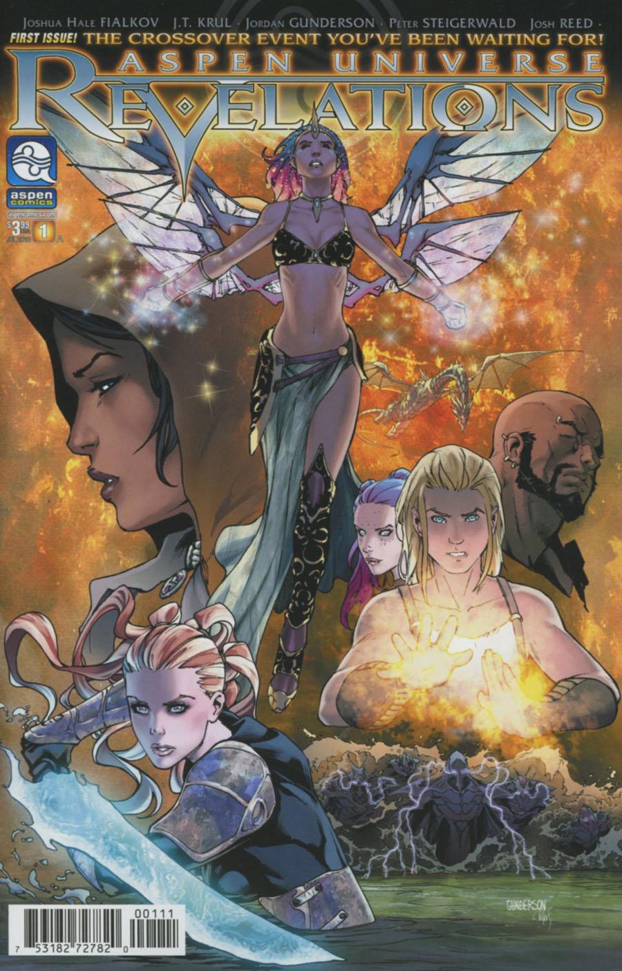 Aspen Universe Revelations #1 Cover A Regular Jordan Gunderson Cover