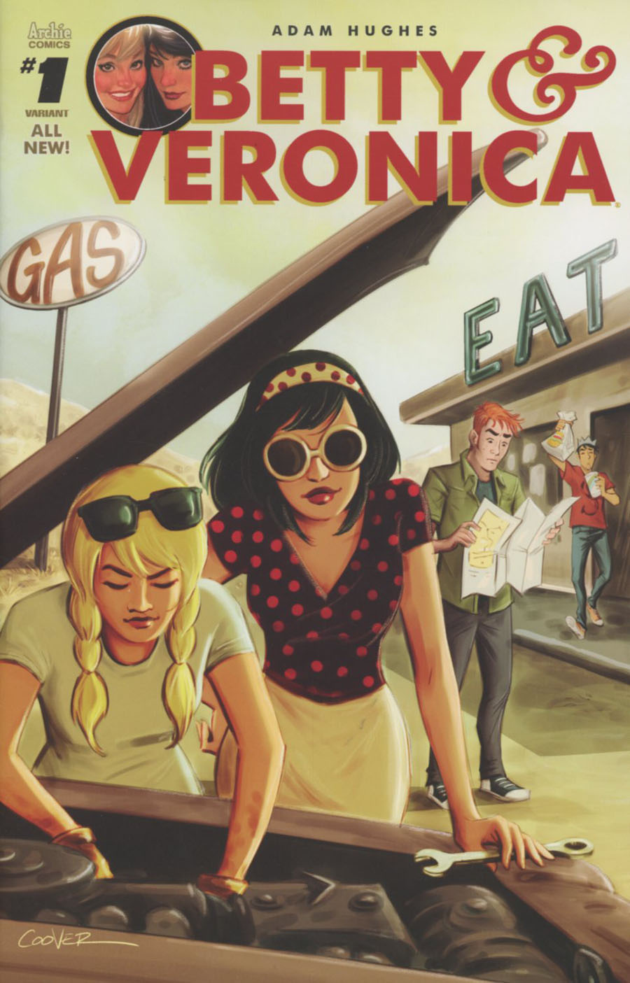 Betty & Veronica Vol 2 #1 Cover F Variant Colleen Coover Cover