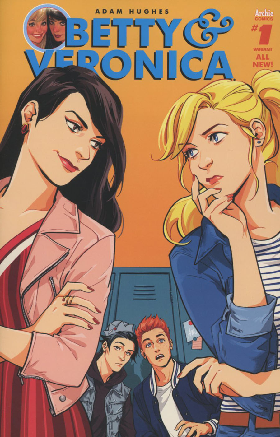 Betty & Veronica Vol 2 #1 Cover Q Variant Audrey Mok Cover