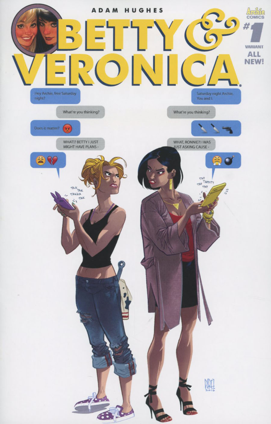 Betty & Veronica Vol 2 #1 Cover S Variant Ramon K Perez Cover