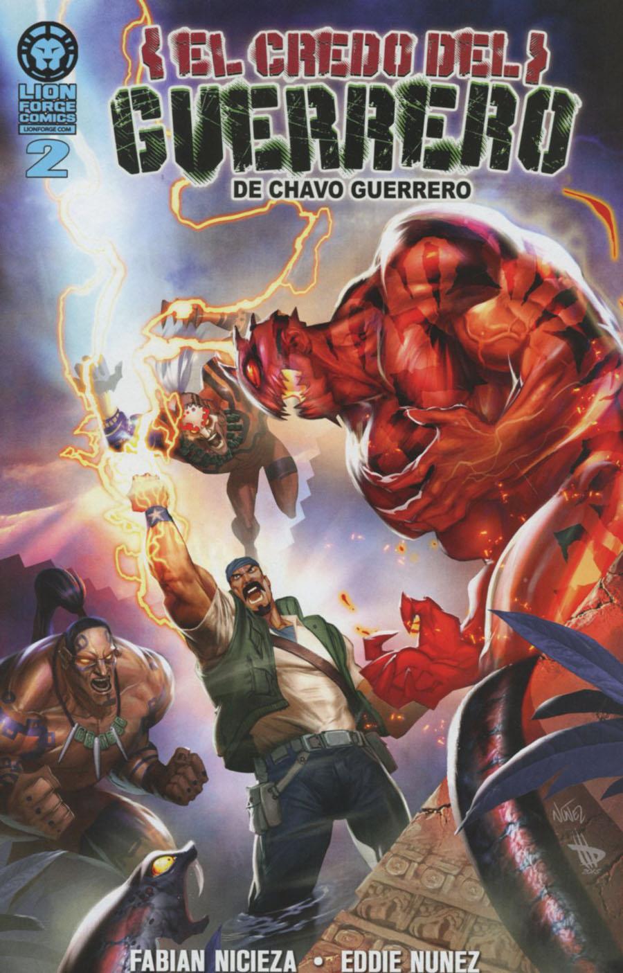 Chavo Guerreros Warriors Creed #2 Spanish Edition