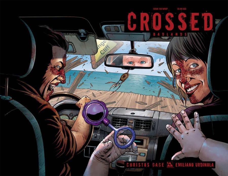 Crossed Badlands #100 Cover C Wraparound Cover