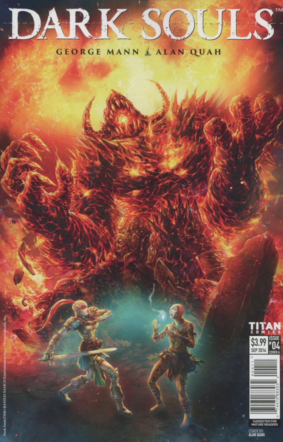 Dark Souls #4 Cover A Regular Alan Quah Cover