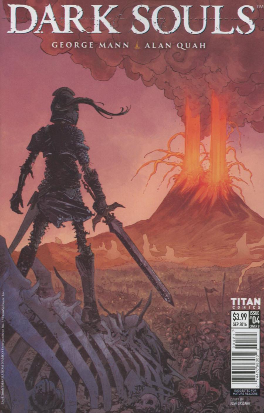Dark Souls #4 Cover B Variant Joshua Cassara Cover
