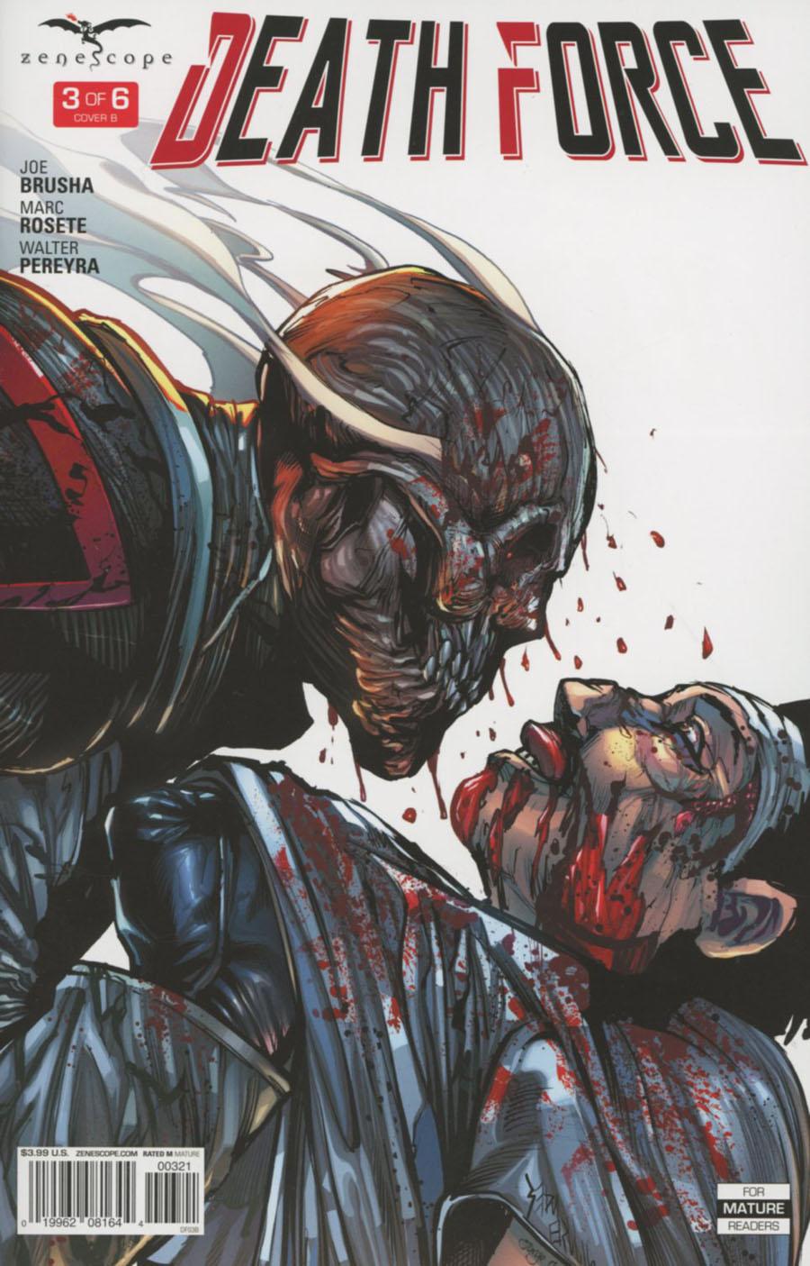 Death Force #3 Cover B Sean Hill