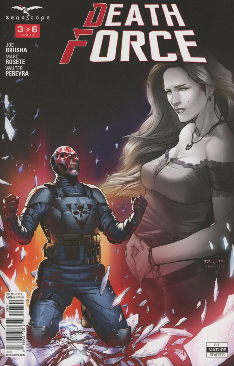 Death Force #3 Cover D Marc Rosete