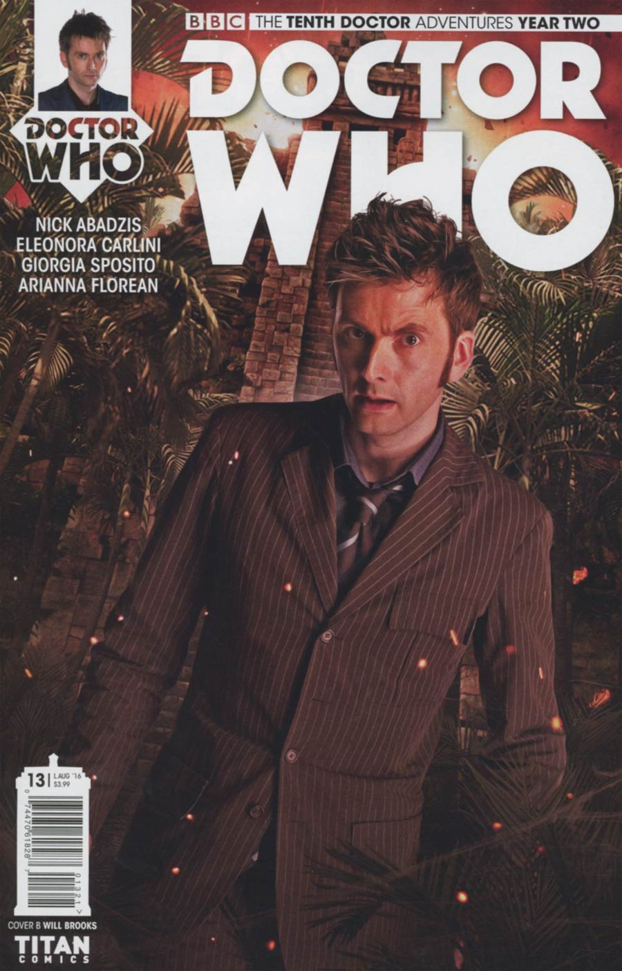 Doctor Who 10th Doctor Year Two #13 Cover B Variant Photo Cover