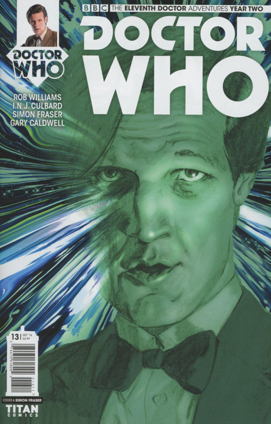Doctor Who 11th Doctor Year Two #13 Cover A Regular Simon Fraser Cover