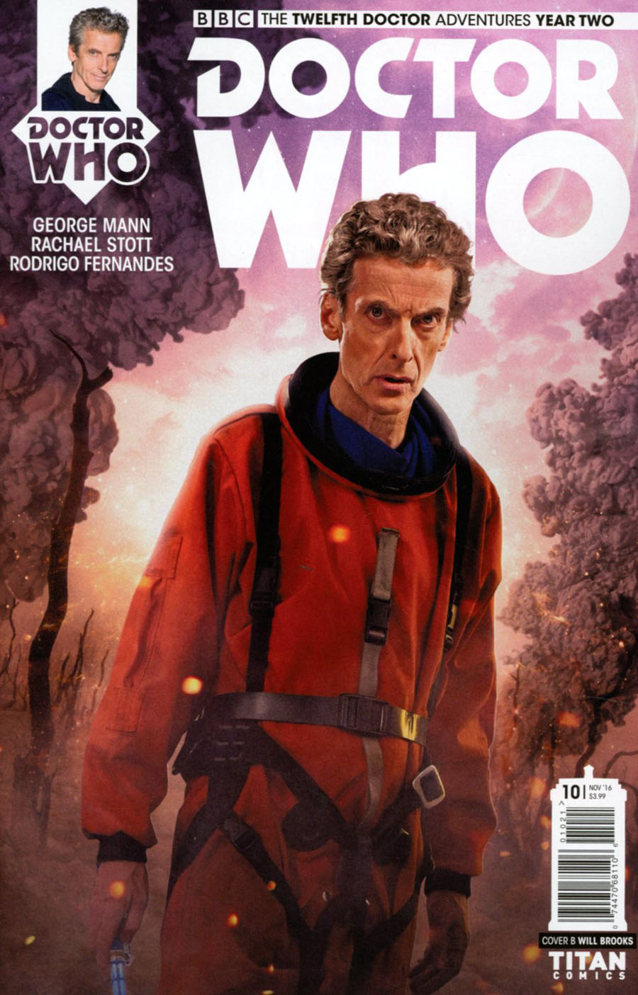 Doctor Who 12th Doctor Year Two #10 Cover B Variant Photo Cover