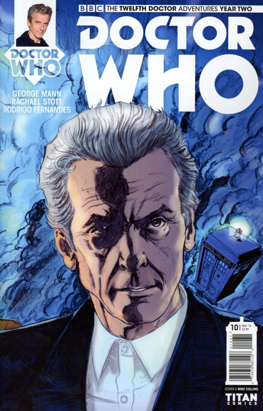 Doctor Who 12th Doctor Year Two #10 Cover C Variant Mike Collins Connecting Cover