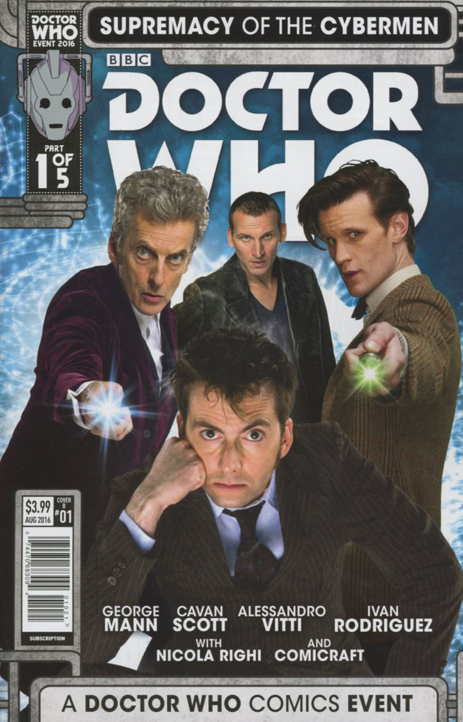 Doctor Who Event 2016 Supremacy Of The Cybermen #1 Cover B Variant Photo Cover
