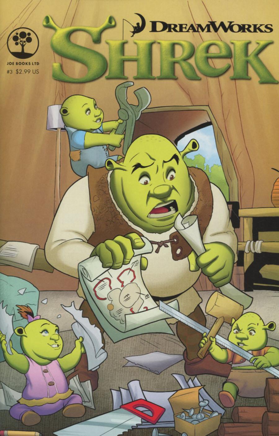 Dreamworks Shrek #3