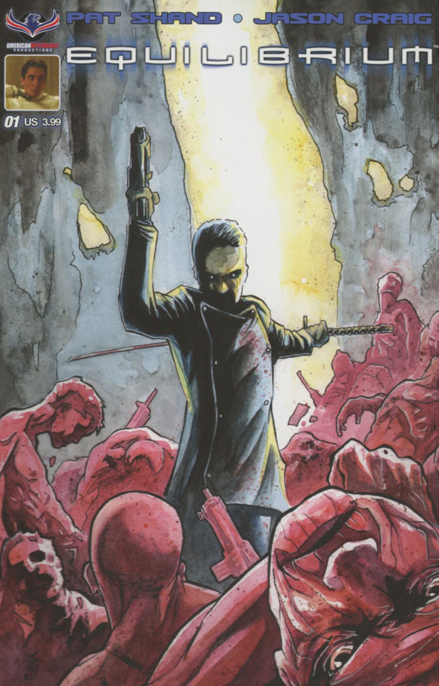 Equilibrium #1 Cover A Regular Matt Slay Cover
