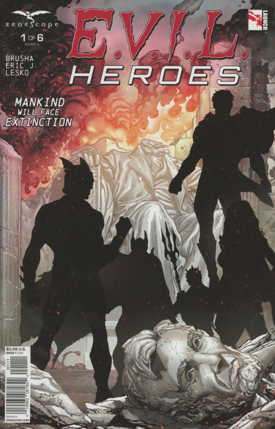 Evil Heroes #1 Cover A Ian Richardson