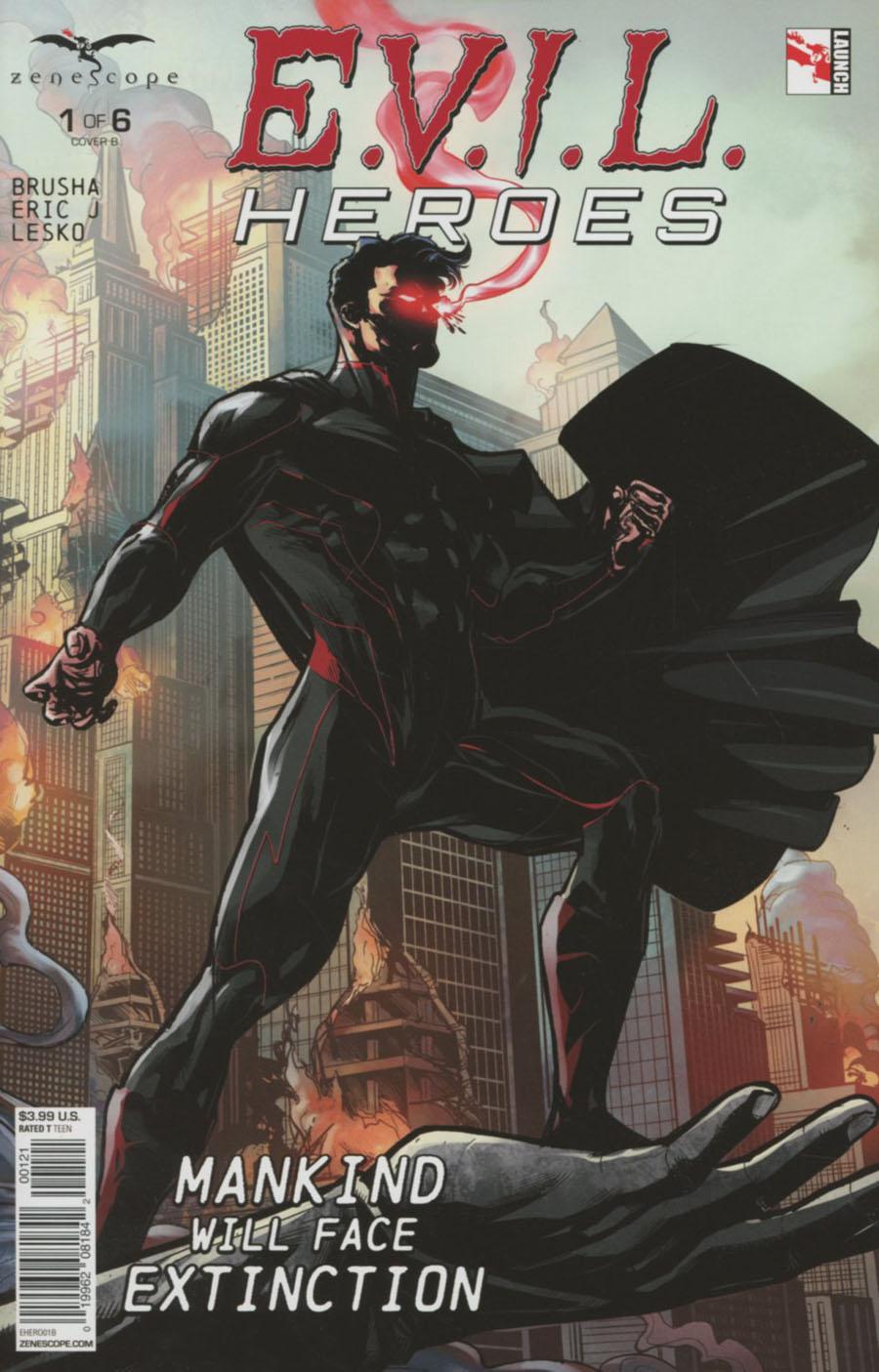 Evil Heroes #1 Cover B Salvatore Cuffari