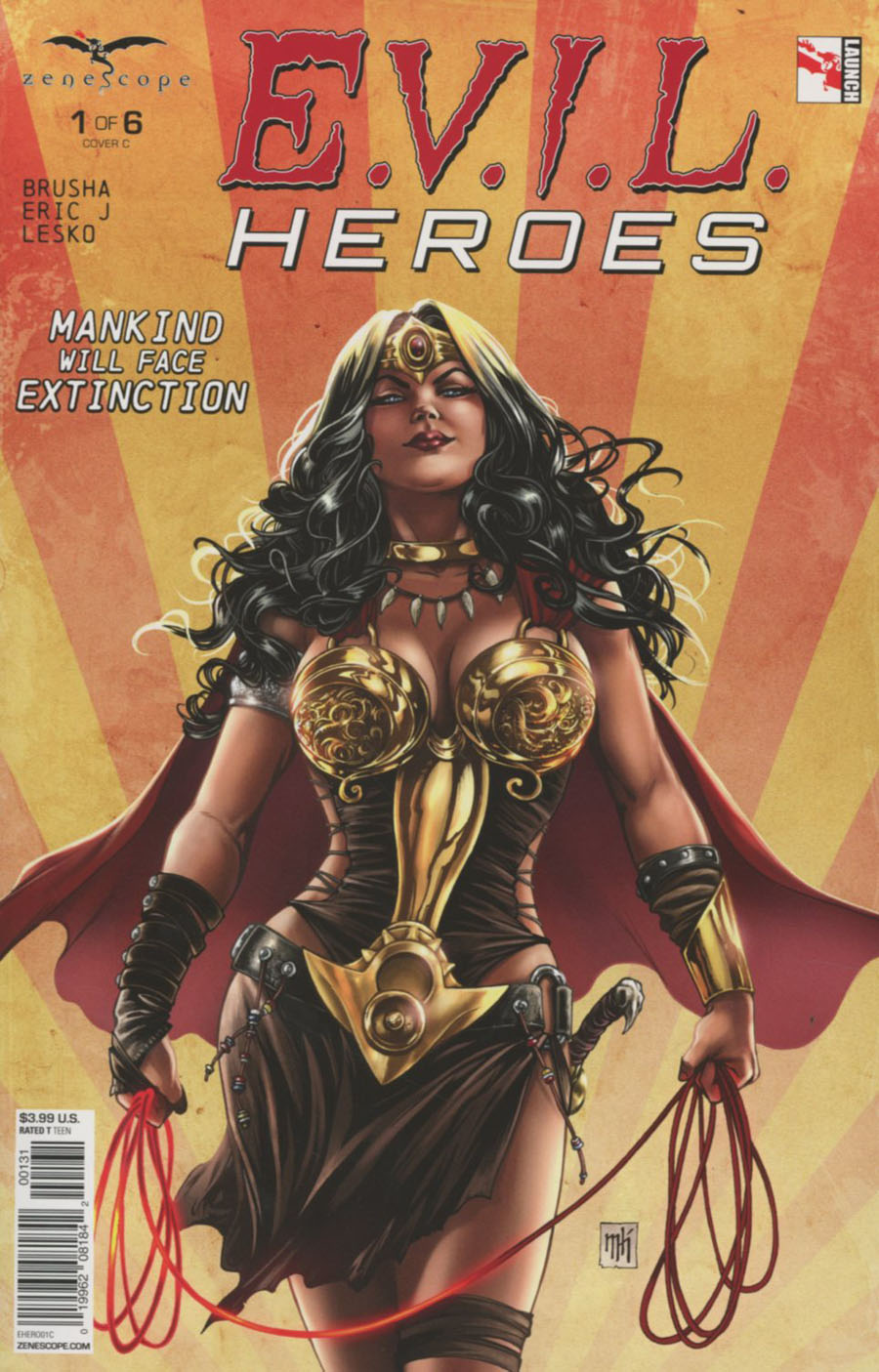 Evil Heroes #1 Cover C Mike Krome