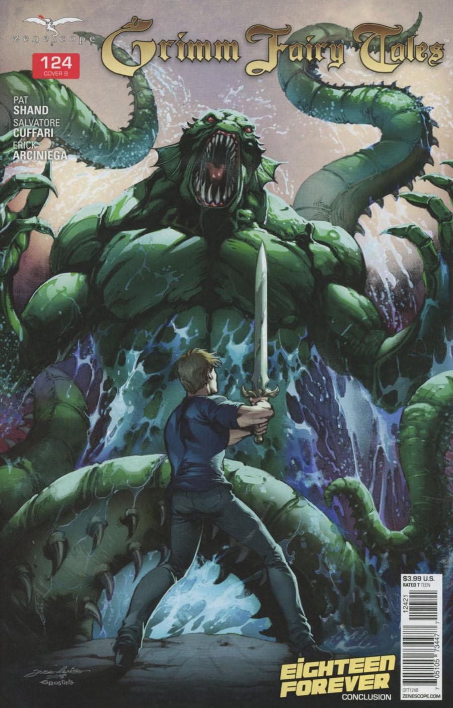 Grimm Fairy Tales #124 Cover B Jose Luis