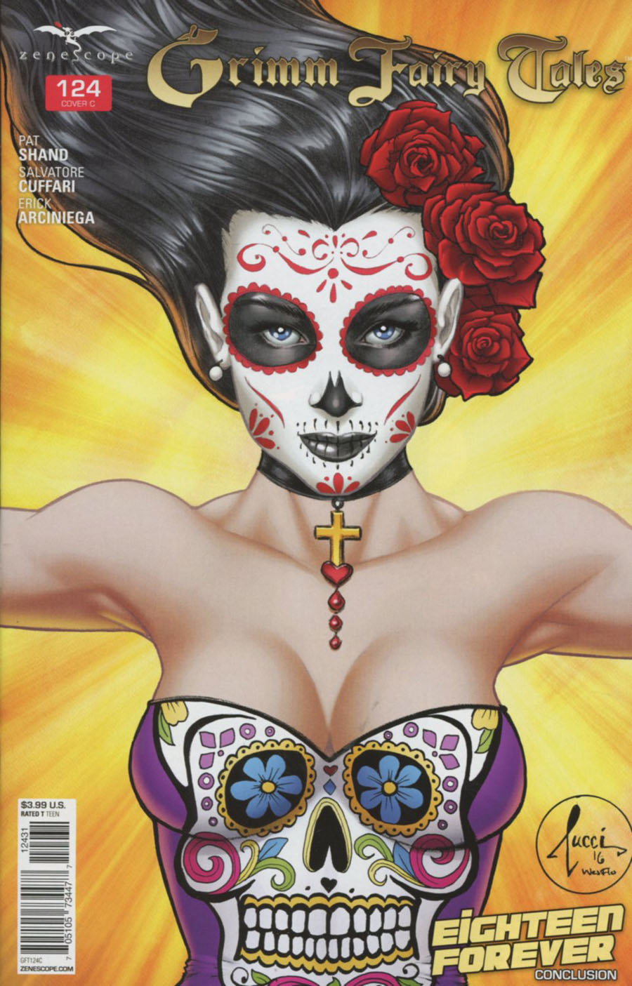Grimm Fairy Tales #124 Cover C Billy Tucci