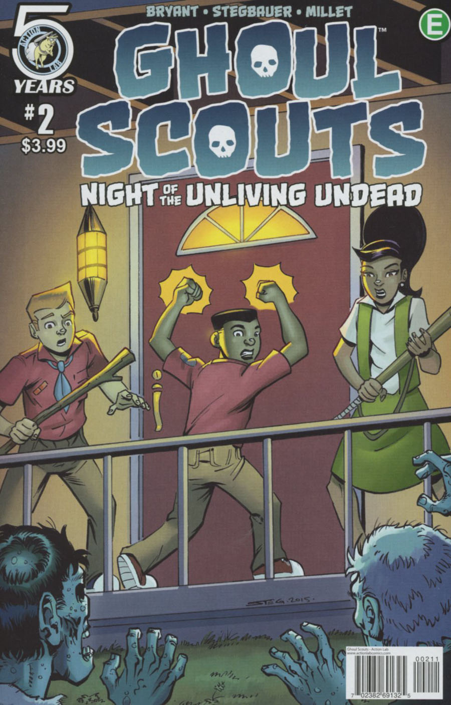 Ghoul Scouts Night Of The Unliving Undead #2 Cover A Regular Mark Stegbauer Cover