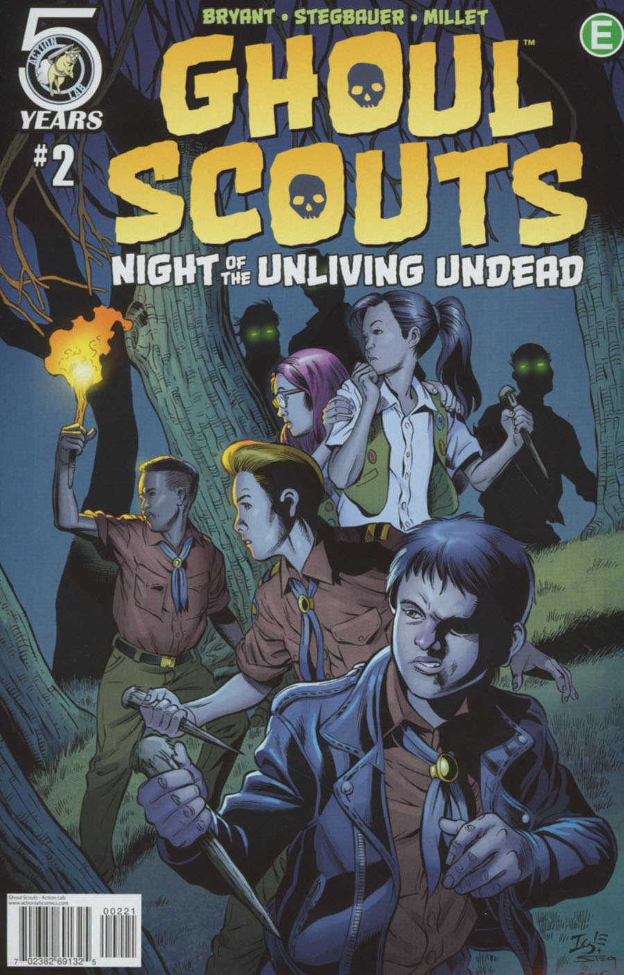 Ghoul Scouts Night Of The Unliving Undead #2 Cover B Variant Jamal Igle Cover